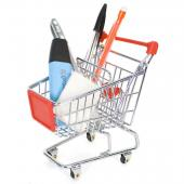 Mini Shopping Trolley – Kontorikäruke